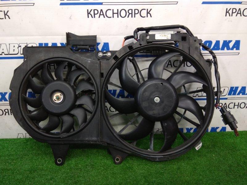 Вентилятор радиатора Audi A4 B6 AMB 2000 Диффузор в сборе с вентиляторами и блоком