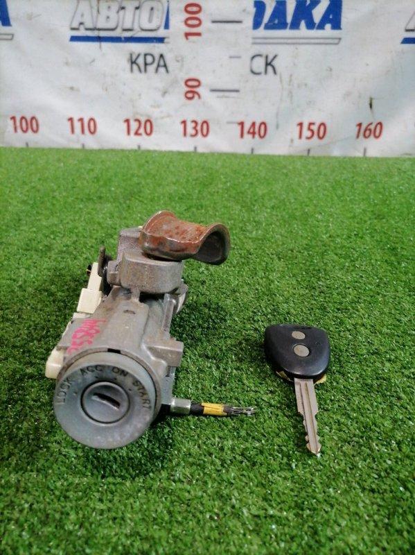 Замок зажигания Daihatsu Mira E:s LA300S KF-VE 2011 С ключом, фишкой