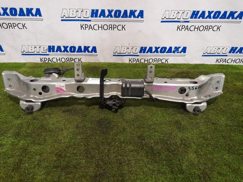 Рамка радиатора Toyota Vitz KSP130 1KR-FE 2010 передняя верхняя верхняя часть рамки с замком капота +
