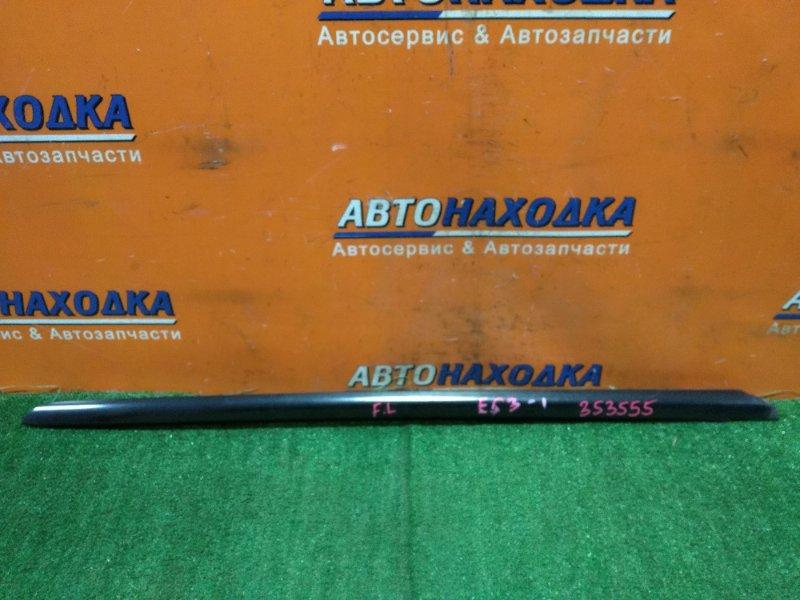 Молдинг лобового стекла Honda Civic ES3 D17A 2002 передний левый НЕТ ОДНОЙ КЛИПСЫ