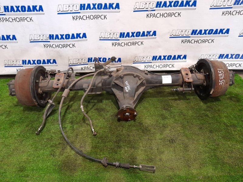Мост Nissan Vanette SKF2VN RF-T 1999 задний Задний в сборе. Двухскатный, на 4 шпильки, пара 3.72