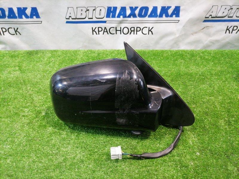 Зеркало Honda Cr-V RD5 K20A 2001 переднее правое Правое, 5 контактов, цвет B92P. Есть царапинки,