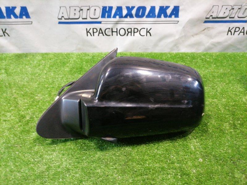 Зеркало Honda Cr-V RD5 K20A 2001 переднее левое Левое, 5 контактов, цвет B92P. Есть потертости до