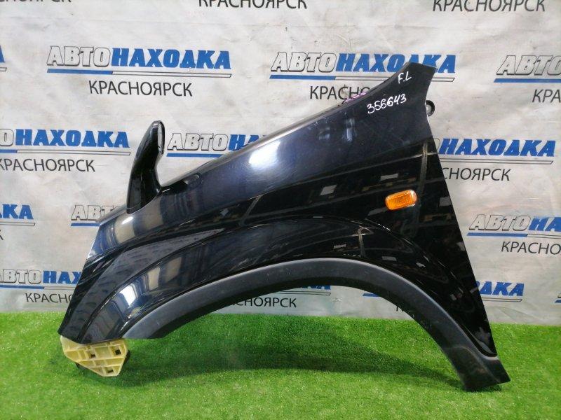 Крыло Honda Cr-V RD5 K20A 2001 переднее левое Переднее левое, цвет B92P, с зеркалом, повторителем,