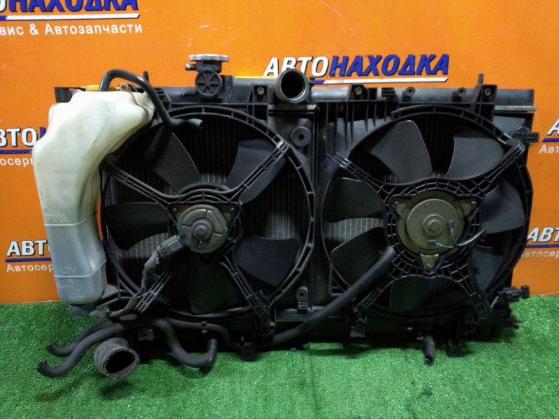Радиатор двигателя Subaru Impreza GG2 EJ152 12.2003 АВТОМАТ. В СБОРЕ С ДИФФУЗОРОМ..