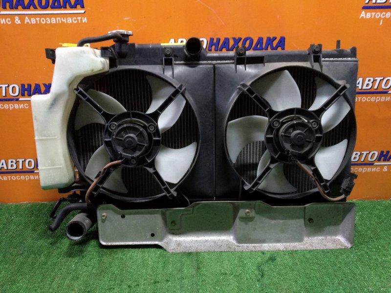 Радиатор двигателя Subaru Legacy BL5 EJ204 11.2004 С ГОРЛОВИНОЙ. АВТОМАТ