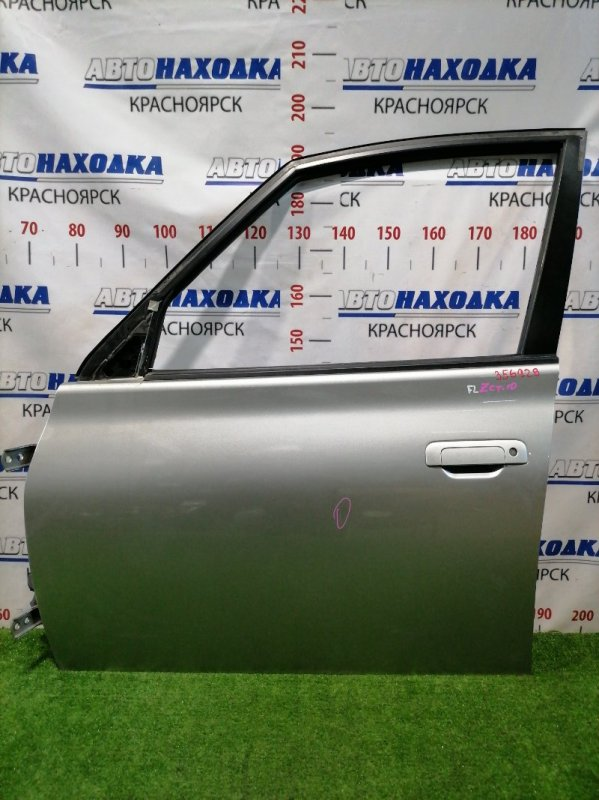 Дверь Toyota Opa ZCT10 1ZZ-FE 2000 передняя левая Передняя левая, цвет 1C0, без стекла, есть 2 вмятины,