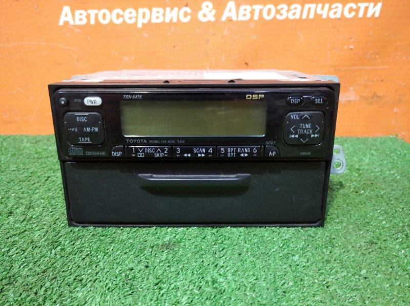 Магнитофон Toyota Carina AT212 5A-FE 1998 кассетный+бардачок