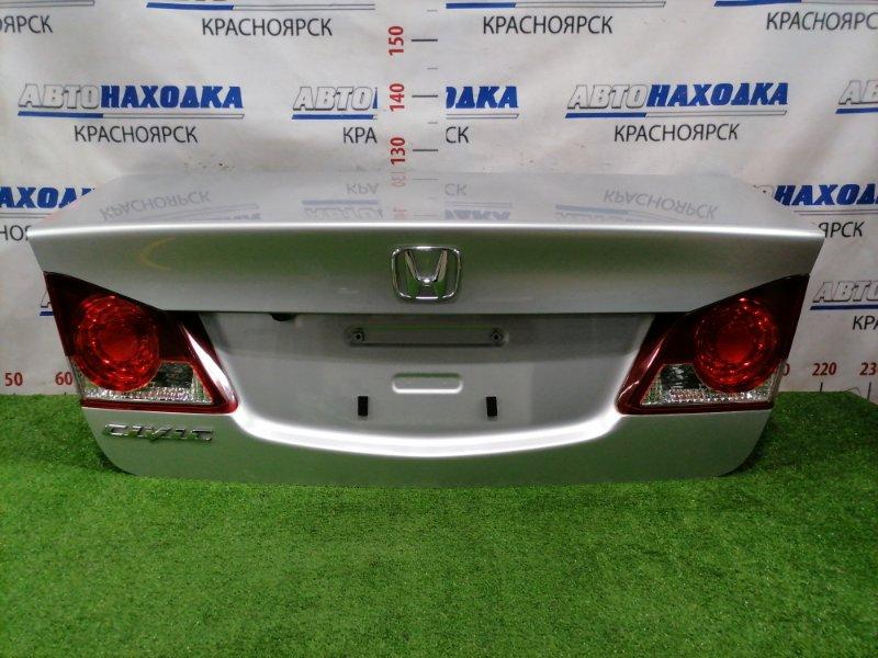 Крышка багажника Honda Civic FD1 R18A 2005 задняя Задняя, цвет NH704M, в сборе, с фонарями (P5376), с