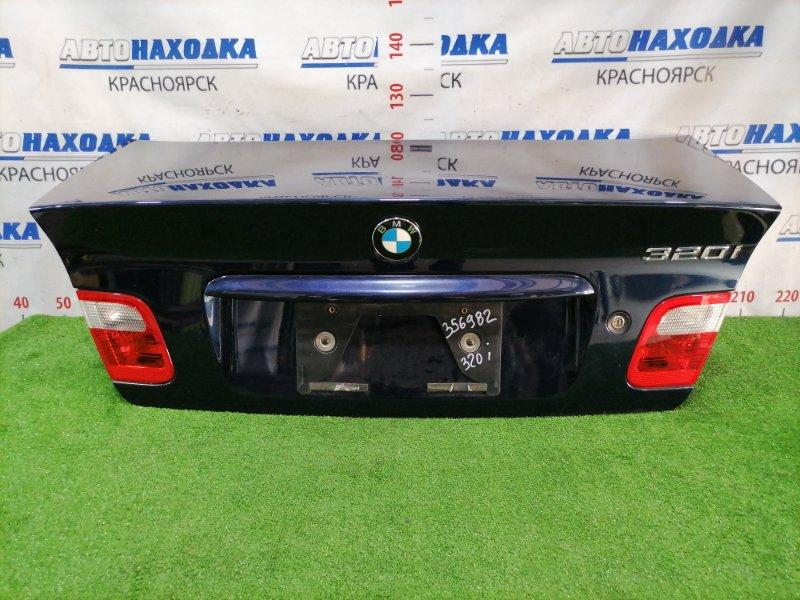 Крышка багажника Bmw 320I E46 M54 B22 1999 задняя Задняя, дорестайлинг, цвет 317, есть