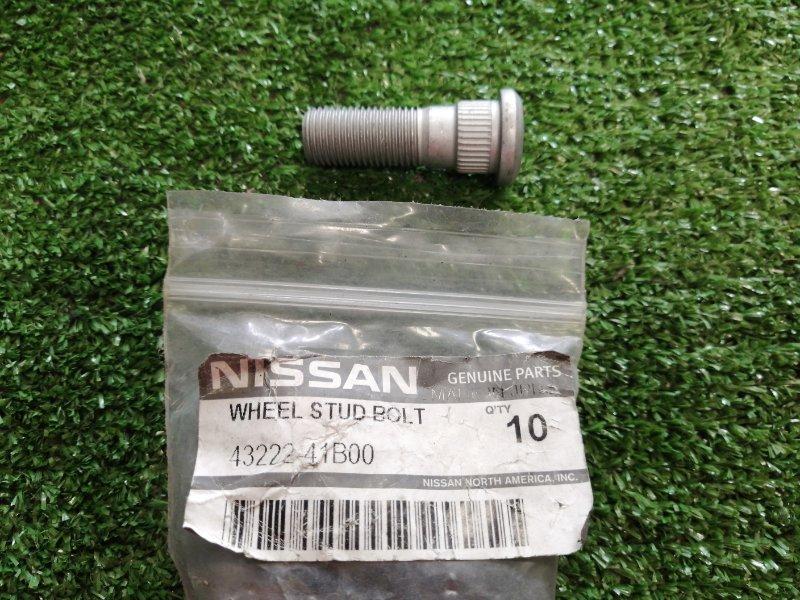 Шпилька колесная Nissan 12*1,25*14,3*24