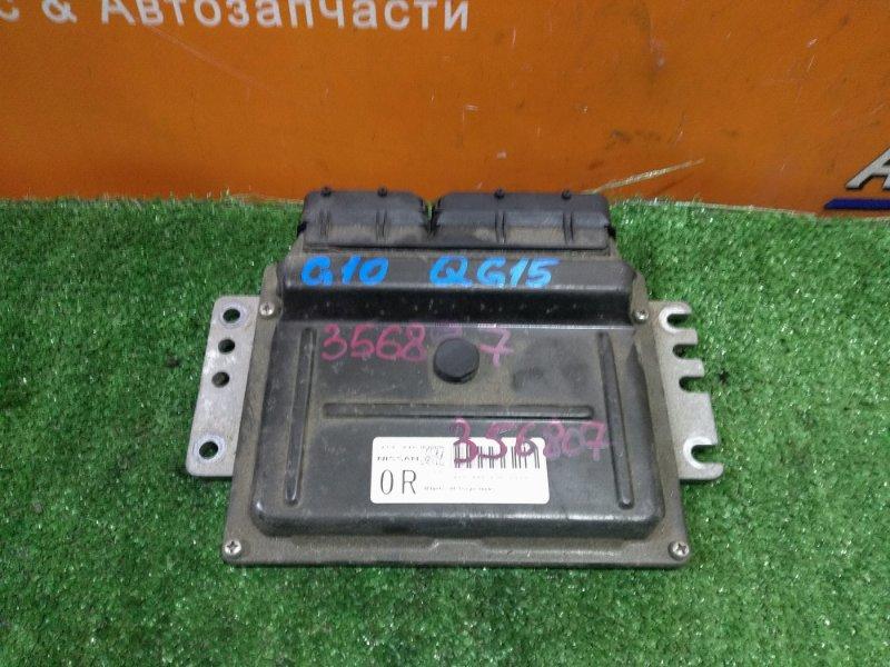 Компьютер Nissan Bluebird Sylphy FG10 QG15DE 10.2003 A56-U40