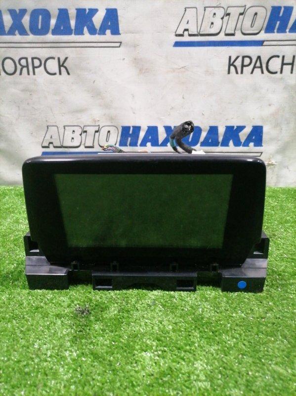 Монитор Mazda Atenza GJ2AP SH-VPTR 2015 G46E669C0A штатный дисплей с центральной панели. Есть дефект: