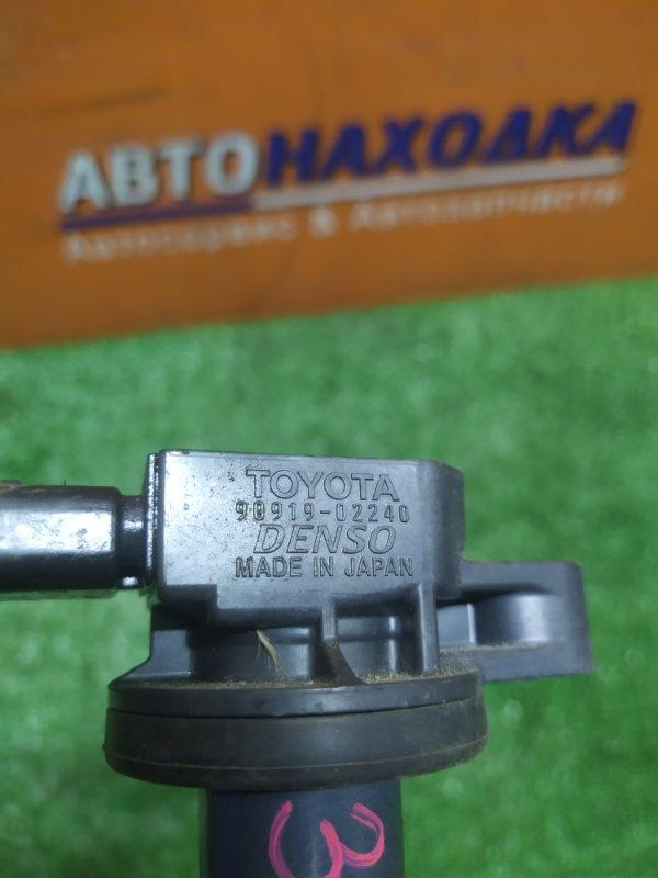 Катушка зажигания Toyota Ractis SCP100 2SZ-FE 03.2010 90919-02240