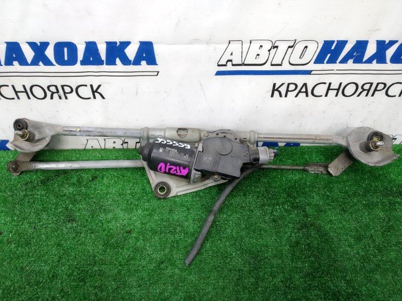 Мотор дворников Toyota Corona Premio AT210 4A-FE 1996 передний передний, в сборе с трапецией
