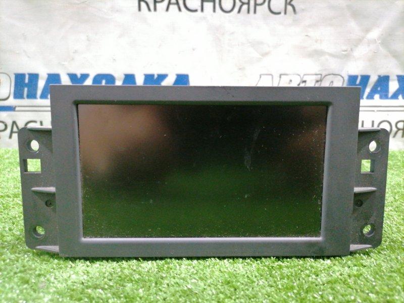 Монитор Volvo Xc60 DZ99 B6304T2 2008 31282668 Информационный дисплей с центральной панели.