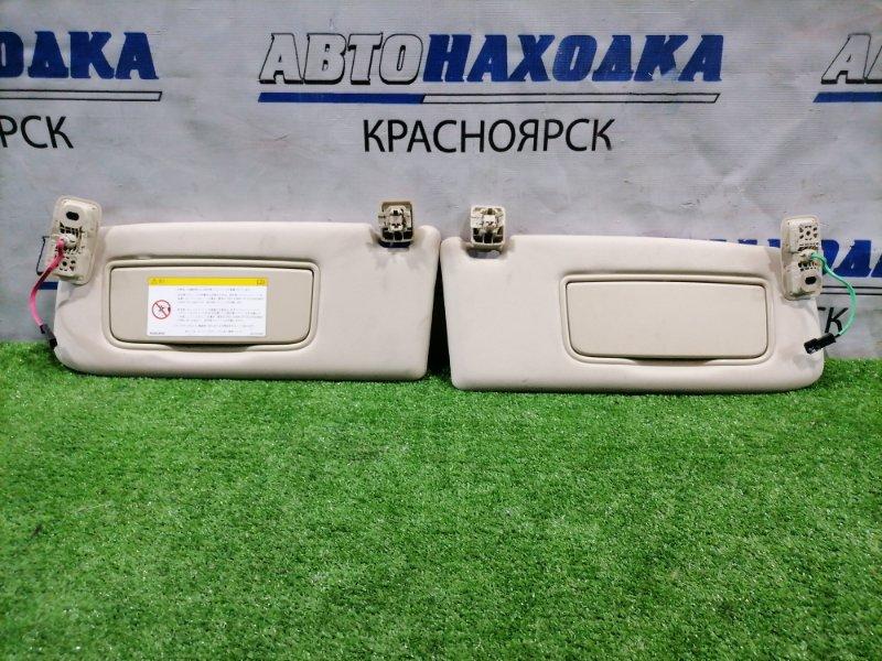 Козырек солнцезащитный Volvo Xc60 DZ99 B6304T2 2008 пара L+R, с зеркалами, подсветкой, под