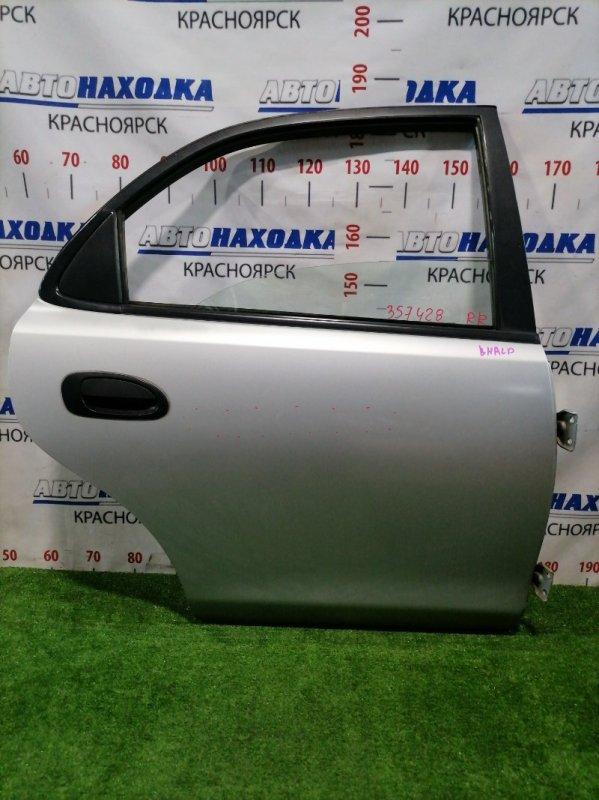 Дверь Mazda Familia BHALP Z5-DE 1994 задняя правая Задняя правая, седан, в сборе, цвет: 3L, есть