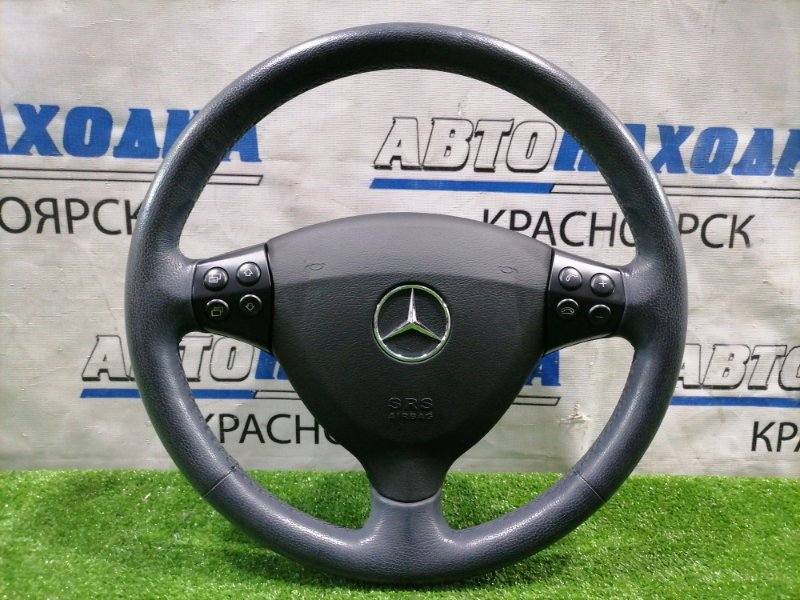 Airbag Mercedes-Benz A170 169.032 266.940 2004 водительский, с рулем, без заряда, без подушки, кожа,