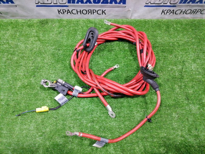 Провод высоковольтный Bmw 320I E46 M54 B22 1999 силовой кабель с клеммами. От АКБ к ДВС