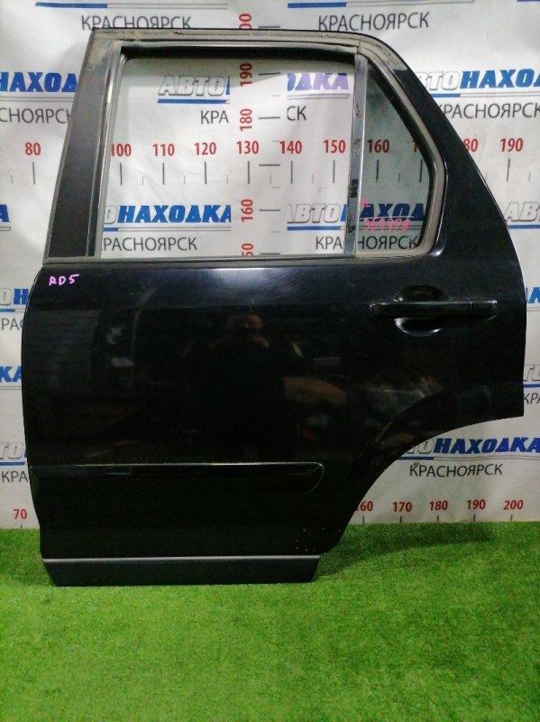 Дверь Honda Cr-V RD5 K20A 2001 задняя левая Задняя левая, цвет B92P, в сборе, есть мелкие царапины и