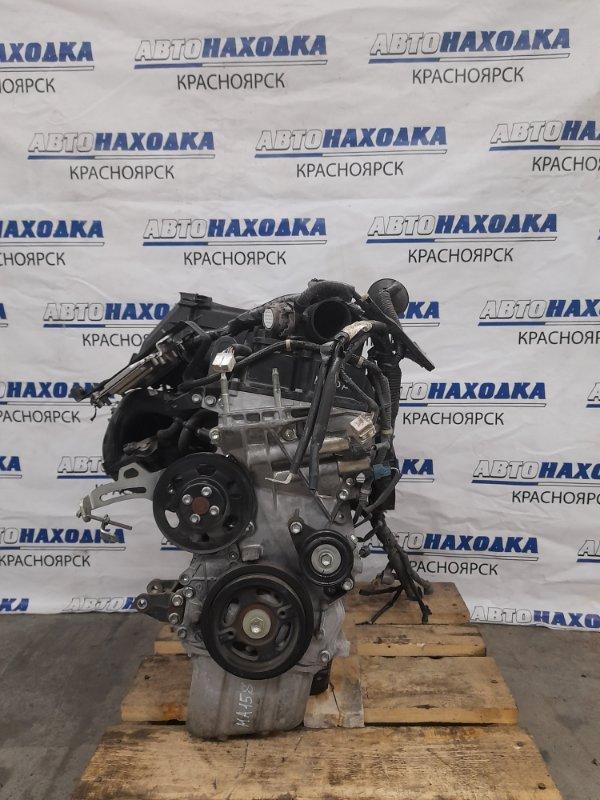 Двигатель Suzuki Solio MA15S K12B 2010 1674072 K12B № 1674072. Пробег 38т.км. Без выпускного коллектора,