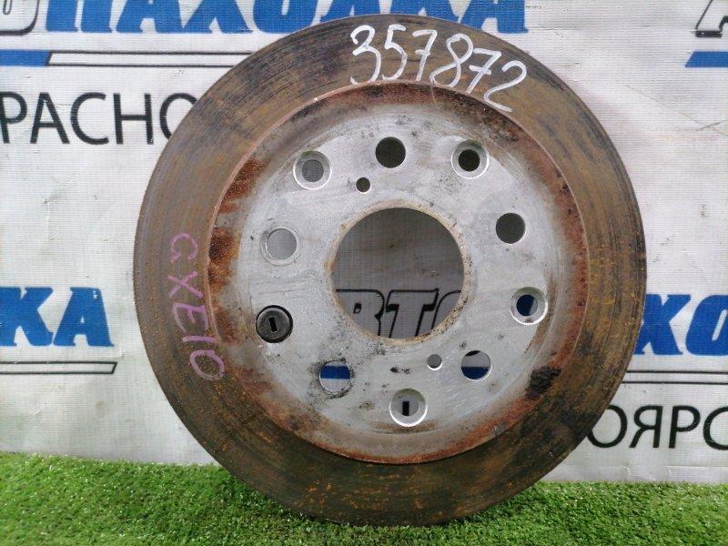 Диск тормозной Toyota Altezza GXE10 1G-FE 2001 задний Задний, диаметр 291 мм, невентилируемый