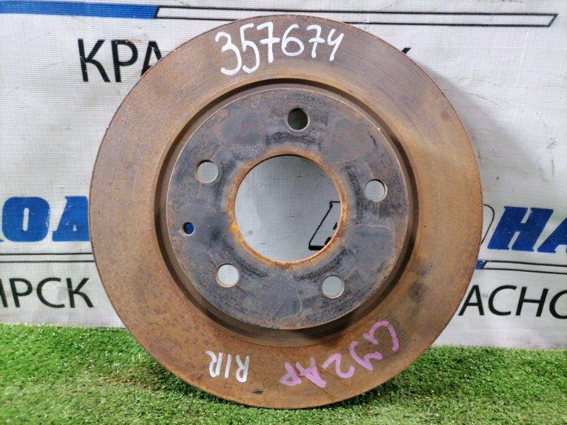 Диск тормозной Mazda Atenza GJ2AP SH-VPTR 2015 задний Задний, диаметр 278 мм