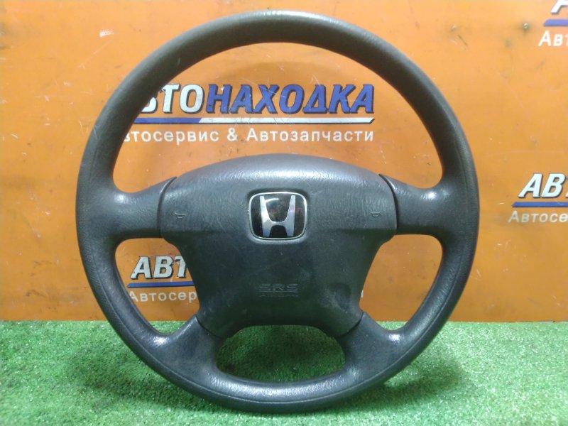 Руль Honda Civic ES3 D17A 2002 + ПОДУШКА. БЕЗ ЗАРЯДА