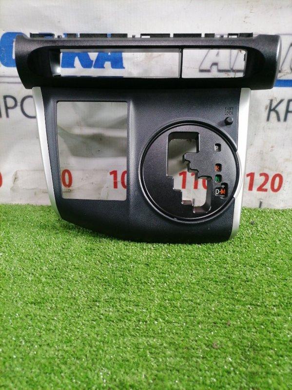 Консоль кпп Toyota Wish ZGE20G 2ZR-FAE 2009 Вокруг селектора кпп, с рамкой под дисплей