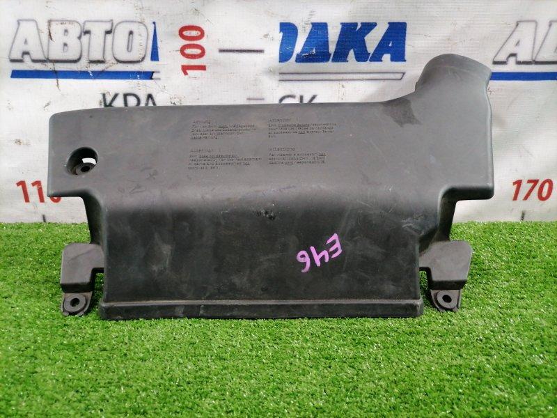 Воздухозаборник Bmw 320I E46 M54 B22 1999 На рамку радиатора.