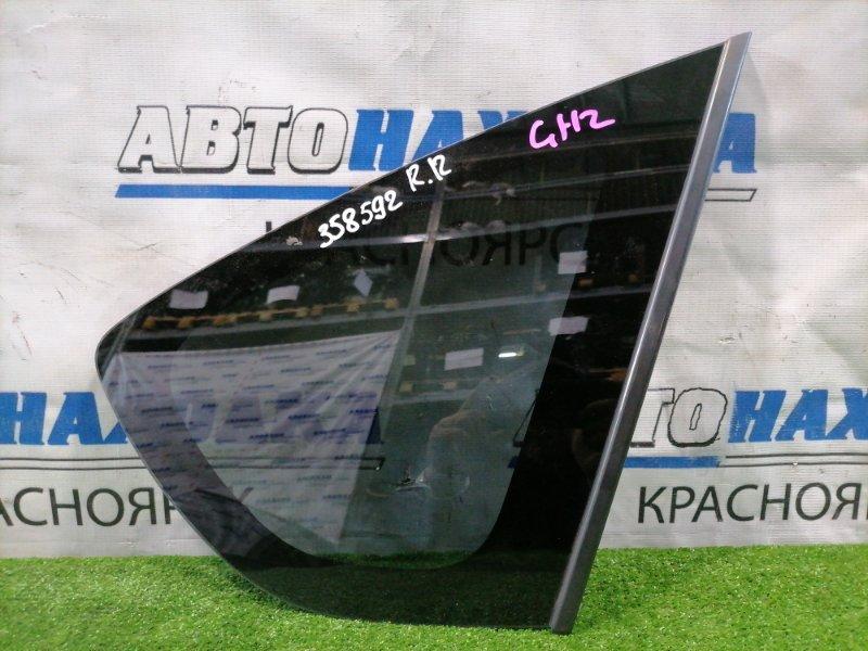 Стекло собачника Subaru Impreza GH2 EL15 2007 заднее правое Заднее правое, заводская тонировка, с
