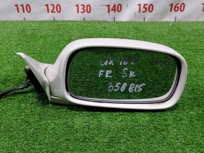 Зеркало Toyota Mark Ii GX100 1G-FE 1996 переднее правое Переднее правое, цвет: 057, 5 контактов, есть