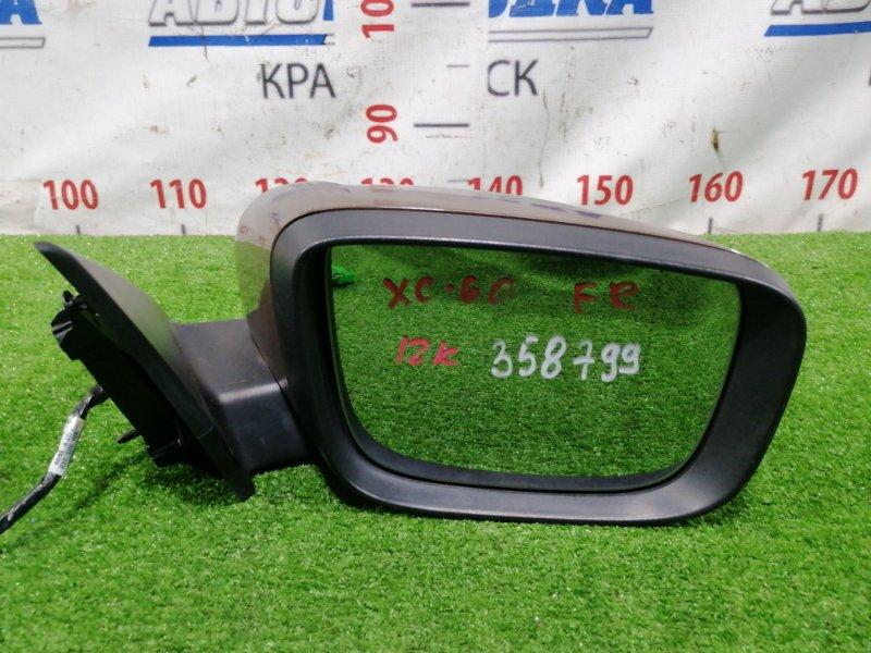 Зеркало Volvo Xc60 DZ99 B6304T2 2008 переднее правое Правое, цвет 494, 12 контактов, с подсветкой,