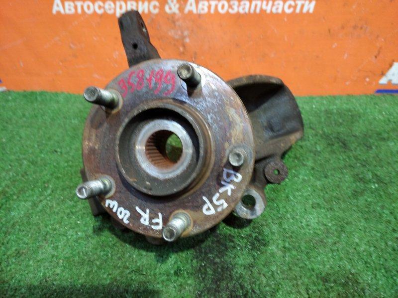 Ступица Mazda Axela BK5P ZY-VE 2003 передняя правая под гайку abs голая 28 зуб.