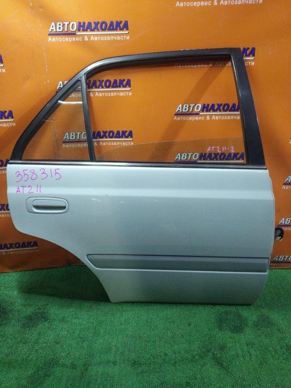 Дверь Toyota Corona Premio AT211 7A-FE 09.1999 задняя правая