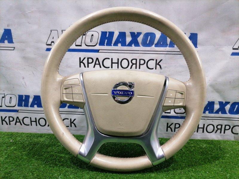 Airbag Volvo Xc60 DZ99 B6304T2 2008 водительский, с рулем, кожа, с кнопками, без заряда. Кожа с