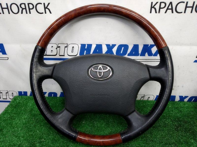 Airbag Toyota Hiace KDH205V 2KD-FTV 2004 Водительский, с рулем, кожа, вставки под дерево, с зарядом,