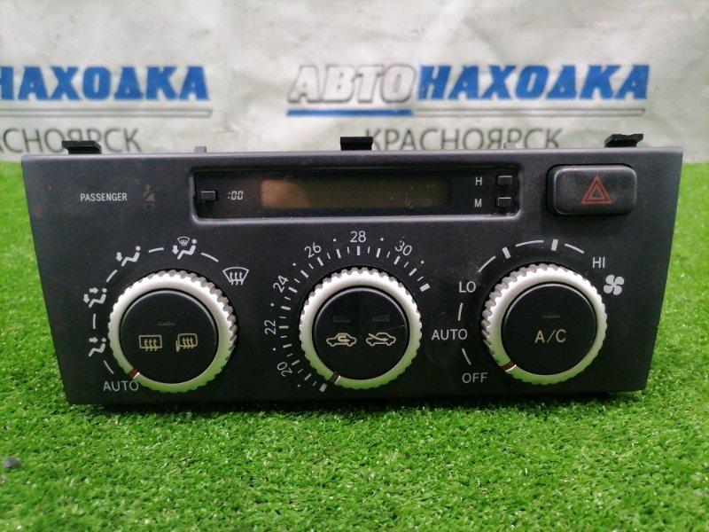 Климат-контроль Toyota Altezza GXE10 1G-FE 2001 177300-6200 с часами и кнопкой аварийки, фишками