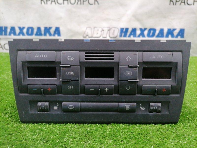 Климат-контроль Audi A4 B7 BFB 2004 8E0820043BM Электронный, с фишками