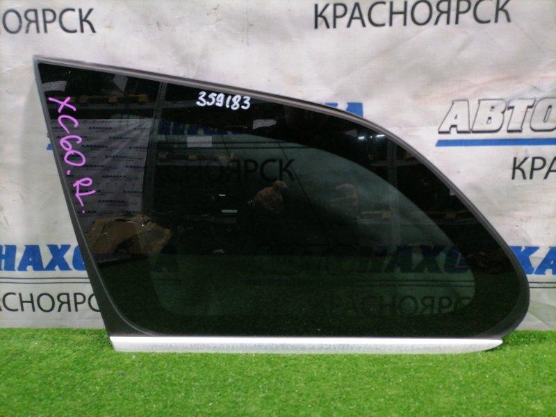 Стекло собачника Volvo Xc60 DZ99 B6304T2 2008 заднее левое Левое, заводская тонировка, с