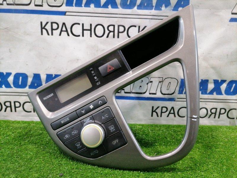 Климат-контроль Toyota Wish ZNE10G 1ZZ-FE 2005 Рестайлинг, с облицовкой вокруг КПП, часами,