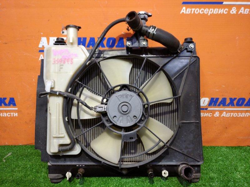 Радиатор двигателя Toyota Porte NNP10 2NZ-FE 2004 а/т 1 диффузор +1 вентилятор+бачек