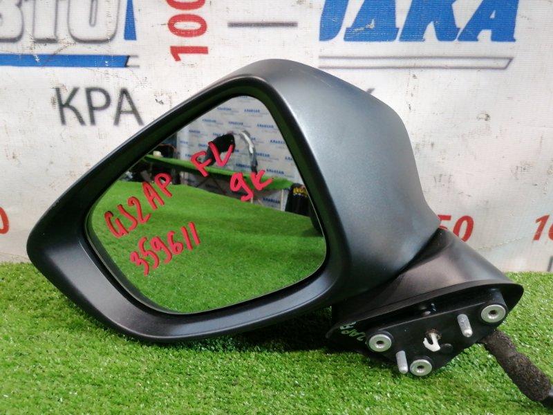 Зеркало Mazda Atenza GJ2AP SH-VPTR 2015 переднее левое Переднее левое, цвет: 25D, с повторителем, 9