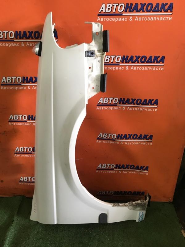 Крыло Nissan Sunny FB15 QG15DE 03.2002 переднее правое 1MOD