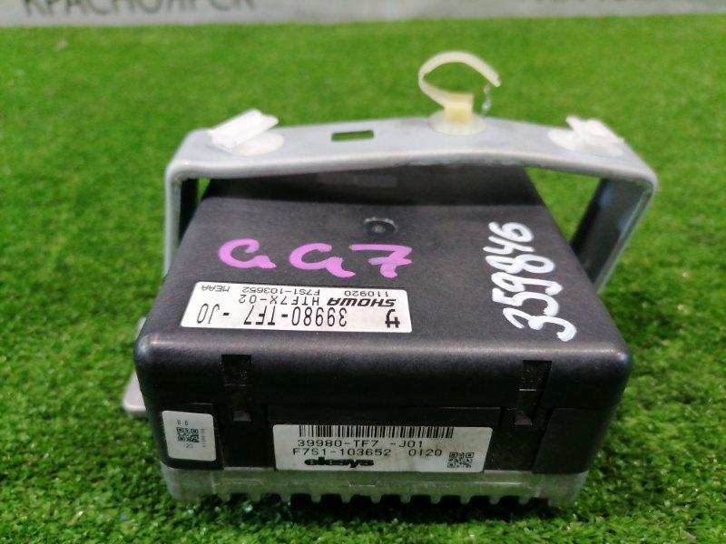 Блок управления рулевой рейкой Honda Fit Shuttle GG7 L15A 2011 39980-TF7-J01 EPS - управления рулевой