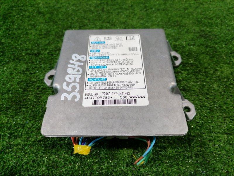 Компьютер Honda Fit Shuttle GG7 L15A 2011 блок управления SRS
