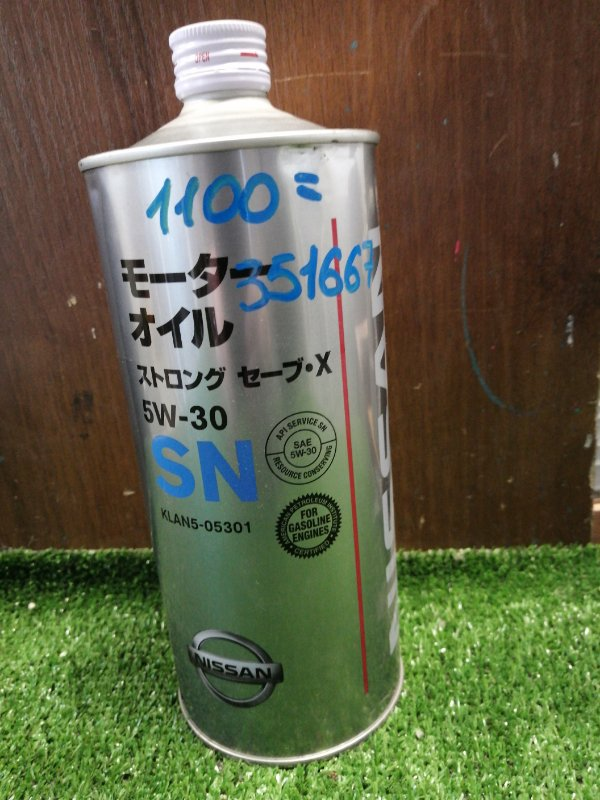 Масло моторное NISSAN 5W30 SS X SN/GF-5 1л
