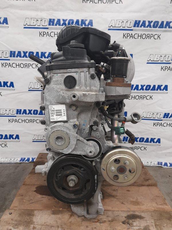 Двигатель Honda Fit Shuttle GG7 L15A 2011 7004291 № 7004291 пробег 62 т.км. I-VTEC. 2011 г.в. Без навесного. На