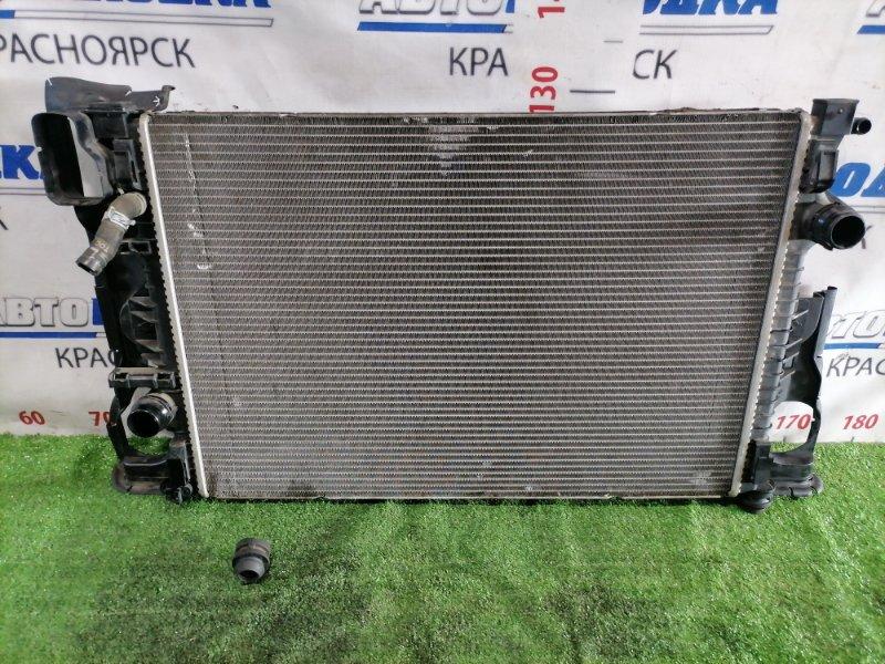 Радиатор двигателя Volvo Xc60 DZ99 B6304T2 2008 A/T, сломана нижняя направляющая (в наличии)